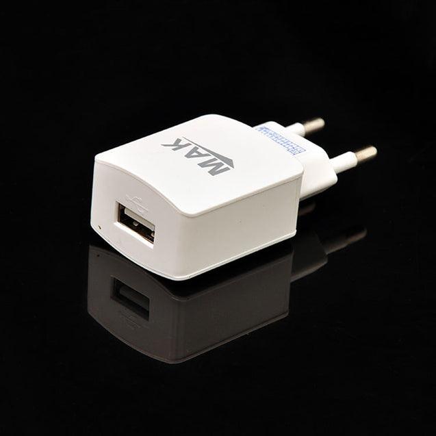 Universal Micro USB Travel Charger Data Sync Charger Adapter For All Android Smarphones (White)