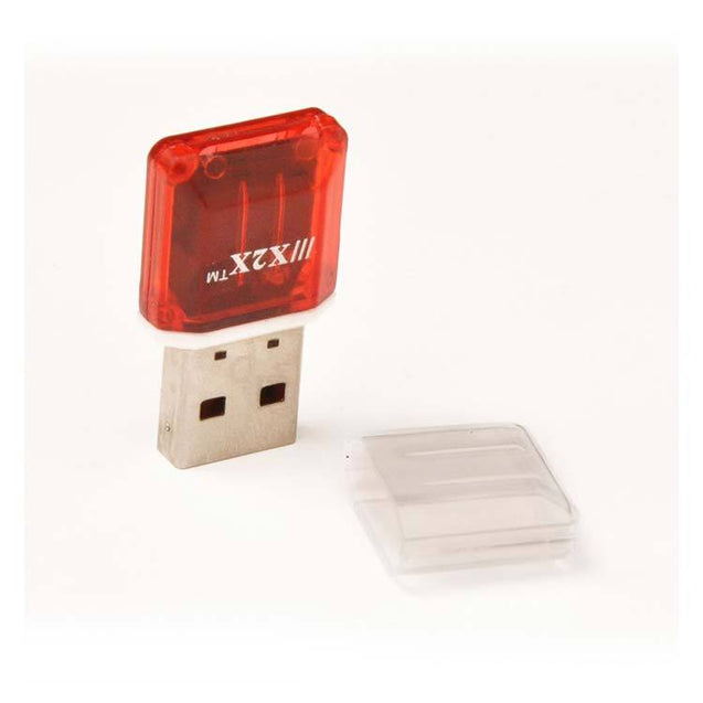 Universal USB Card Reader High Speed Memory Card Reader (Red)