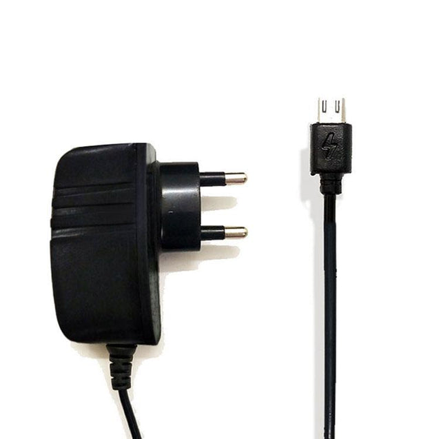 Universal Micro USB Mobie Charger Travel Charger Adapter For All Android Smartphones (Black)