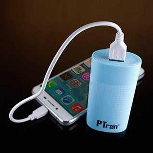 PTron Flash Mini 3000mAh Power Bank (Blue)