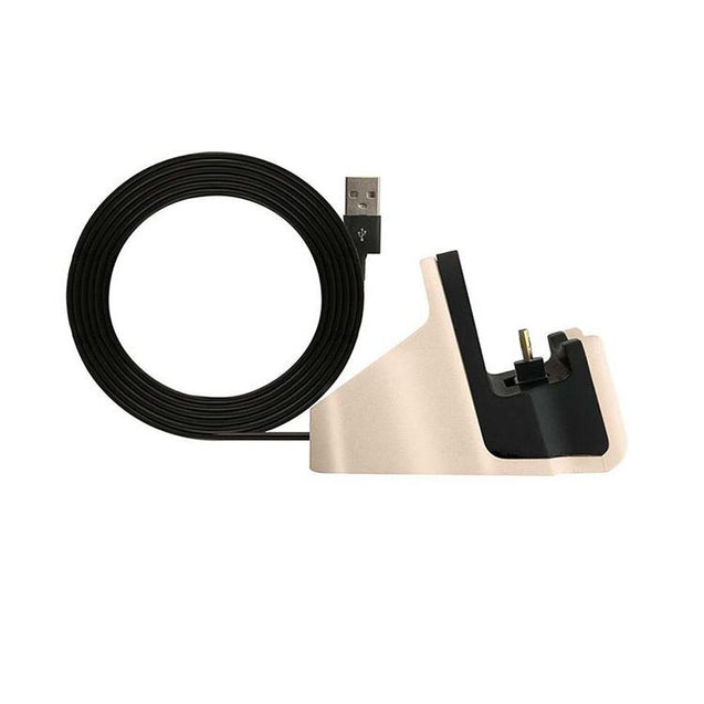 PTron Docking Station Charger Stand Adapter With Micro USB For Xiaomi Redmi 4 (Gold)