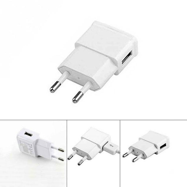 PTron Universal Micro USB Travel Charger Adapter For All Android Smartphones (White)