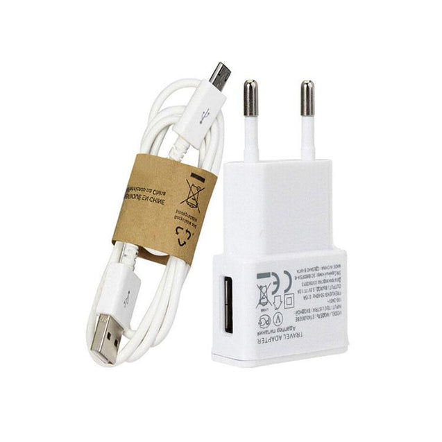 PTron 2A USB Travel Charger Adapter Compatible For Samsung Galaxy J7 Prime (White)