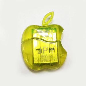 Universal USB Card Reader Designed With Apple Shape (Green)
