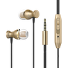 Original PTron Magg India's Best In-Ear Headphone For Samsung Galaxy A7 2017 (Gold/Black)