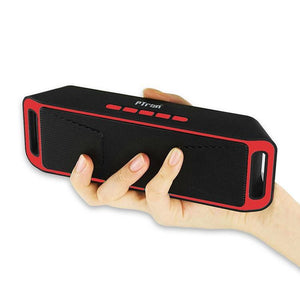 PTron Throb Wireless Bluetooth Speaker For Alcatel 3V (Red)