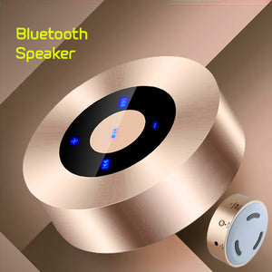 PTron Sonor Bluetooth Speaker New Fashionable Wireless Speaker For All Smartphones (Gold)