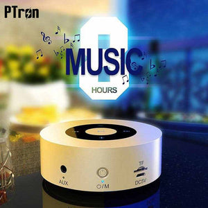 PTron Sonor Bluetooth Speaker New Fashionable Wireless Speaker For Sony Xperia XA2 Ultra (Gold)