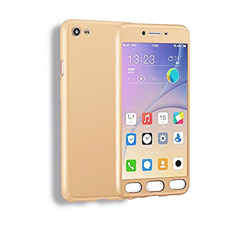 best sneakers 0d9b3 14ad2 Vivo Y51L Back Cover 360 Full Protection Cover Ipaky Hard Back Case (Gold)