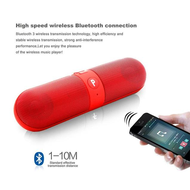 Buy PTron Streak Bluetooth Speaker Red, Get Solero Lite 2A Type C USB Charging Cable Free