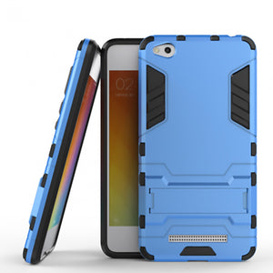 Xiaomi Redmi 4A Back Cover Hybrid Shock Proof Armor Hard Back Case (Deep Blue)