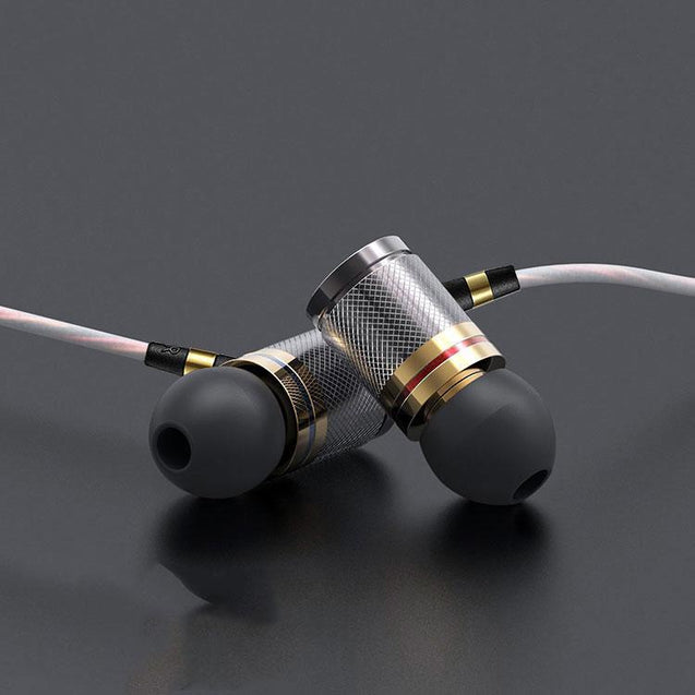 PTron Aristo In-Ear Headphone With Noise Cancellation For Xiaomi Redmi Note 5 (Gold)