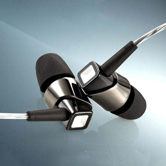 PTron Pride In-Ear Headphone With Noise Cancellation For All Smartphones (Black/Nickel)