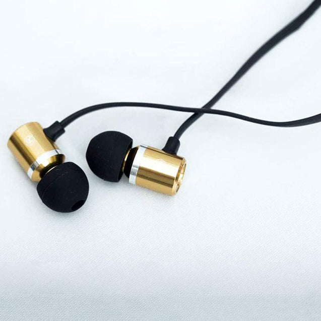 PTron Unison In-Ear Headphone With Noise Cancellation For All Xiaomi Smartphones (Gold)