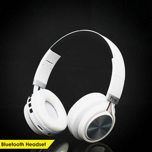 PTron Kicks Bluetooth Headset Wireless Stereo Headphone With Mic For All Xiaomi Smartphones (White)