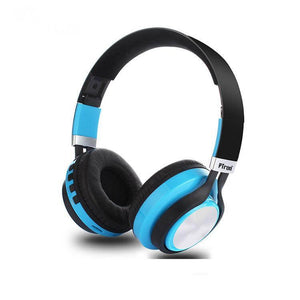 PTron Kicks Bluetooth Headset Wireless Stereo Headphone With Mic For All Smartphones (Blue)