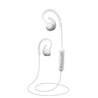 PTron Sportster In-ear Bluetooth Headset Wireless Stereo Earphones With Mic (White)
