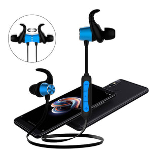 PTron Spark Pro In-ear Bluetooth Headset With Mic For All Xiaomi Redmi Smartphones (Blue)