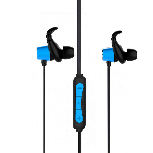PTron Spark Pro In-Ear Bluetooth Headset With Mic For Samsung Galaxy J7 (2015/16/17) (Blue)