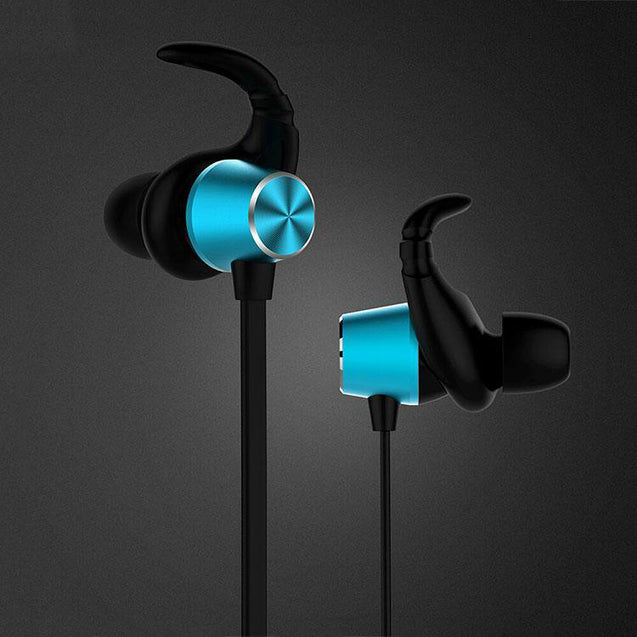 PTron Spark Pro In-Ear Bluetooth Headset With Mic For All HTC Smartphones (Blue)