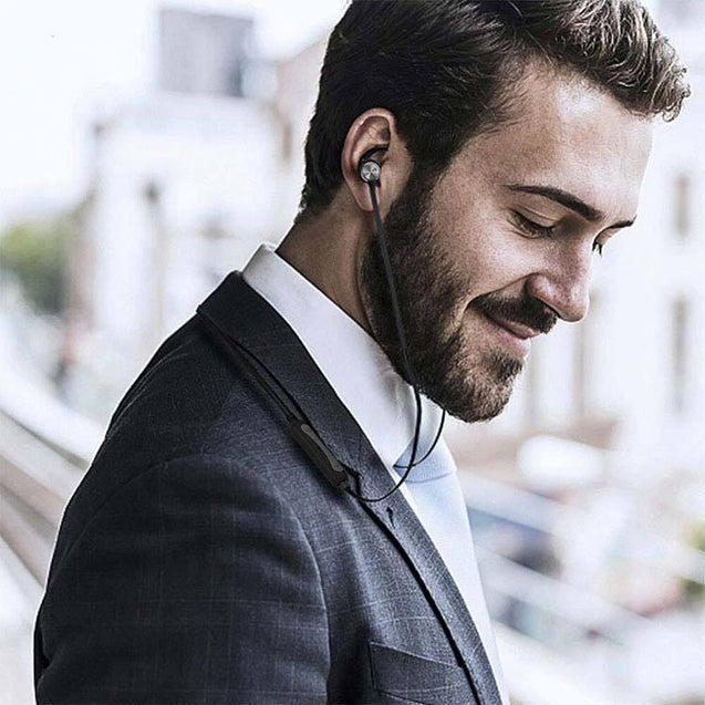 PTron Spark Pro In-ear Bluetooth Headset With Mic For All Samsung Smartphones (Black)