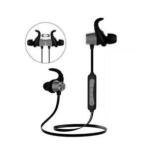 PTron Spark Pro In-ear Bluetooth Headset With Mic For Samsung J7 2017 (Black)