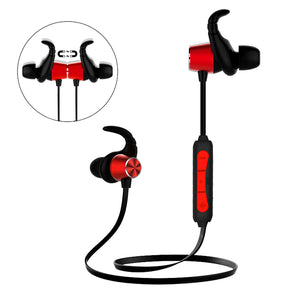 PTron Spark Pro In-ear Bluetooth Headset With Mic For All Xiaomi Redmi Smartphones (Red)