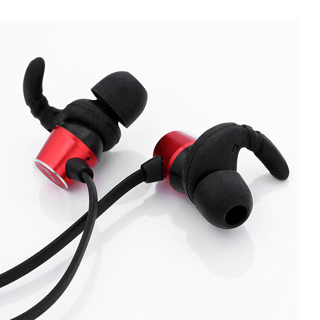 PTron Spark Pro In-ear Bluetooth Headset Wireless Stereo Earphones With Mic For POCO F1 (Red)