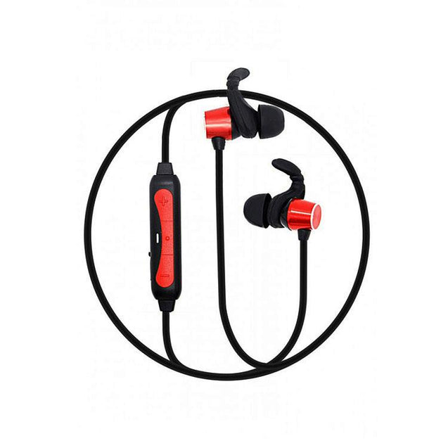 PTron Spark Pro In-ear Bluetooth Headset With Mic For Xiaomi Redmi 6 Pro (Red)