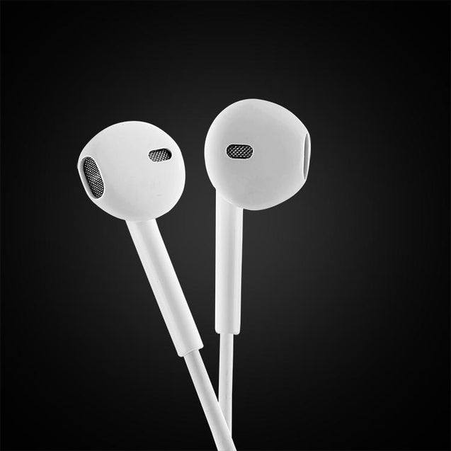 PTron Avento Bluetooth Headphones In-Ear Wireless Earphones With Mic For Redmi Note 5/Note5pro (White)