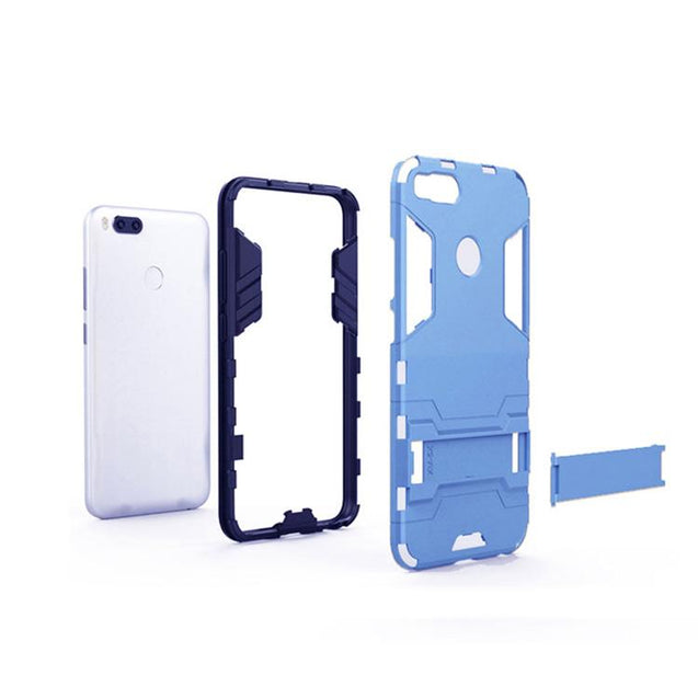 Xiaomi Redmi Mi A1 Back Cover Hybrid Shockproof Armor Hard Back Case (Deep Blue)