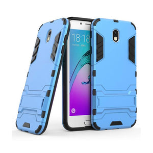 Samsung Galaxy J7 Pro Back Cover Hybrid Shockproof Armor Hard Back Case (Deep Blue)