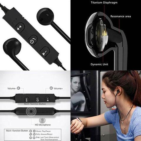 Xmate Lancer 4.1 Bluetooth Headphones In-Ear Wireless Earphones For Huawei Honor V10 (Black)