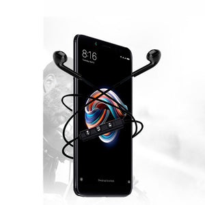 Dazon Lancer 4.1 Bluetooth Headphones In-Ear Wireless Earphones With Mic For Redmi Note 5 (Black)