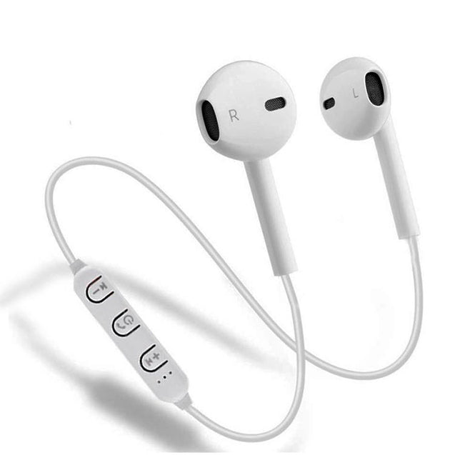 Xmate Lancer 4.1 Bluetooth Headphones In-Ear Wireless Earphones For All Smartphones (White)