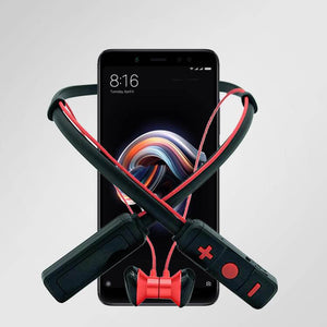 PTron Tangent Pro Bluetooth Headset Stereo Wireless Headphone For Xiaomi Redmi Note 5 (Red/Black)
