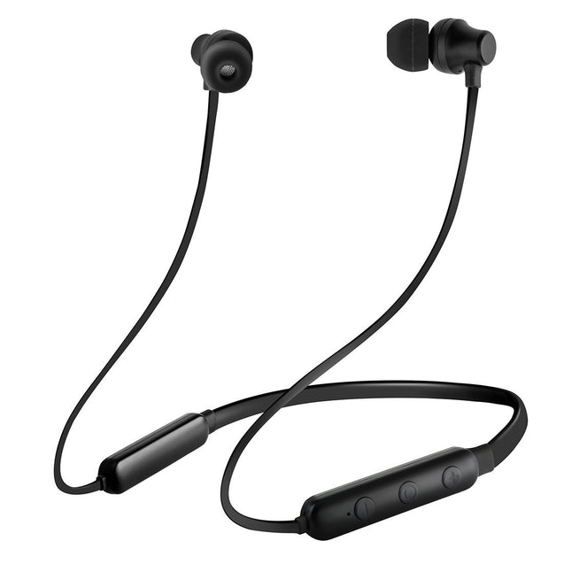 pTron InTunes Lite In-Ear Stereo Sound Wireless Headphones with Mic - (Black)