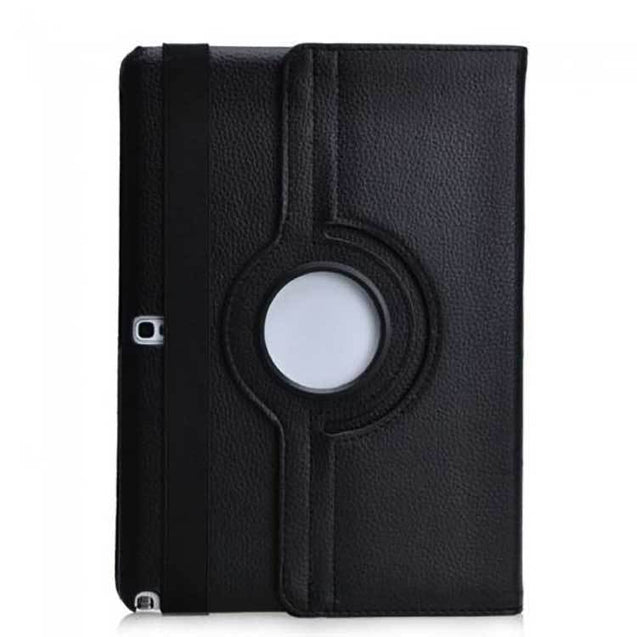 Rotating Samsung Galaxy Note 10 1 360 Leather Case Cover Black