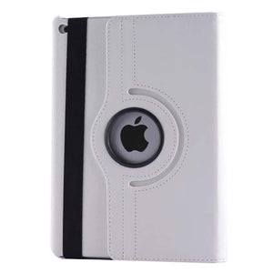 PTron Full 360 Rotating Stand Cover Case for Apple iPad Air iPad 5 White