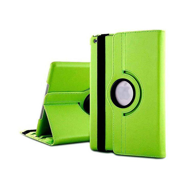 PTron Full 360 Rotating Stand Cover Case for Apple iPad Air iPad 5 Green