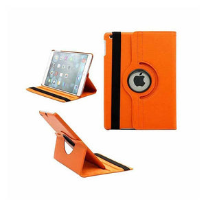 PTron Full 360 Rotating Stand Cover Case for Apple iPad Air iPad 5 Orange