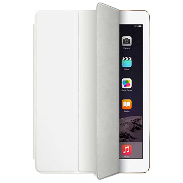 PTron Ultra Slim Smart PU Leather Flip Cover Case for Apple iPad Air iPad 5 White