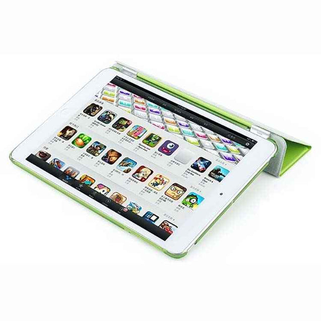 PTron Ultra Slim Smart PU Leather Flip Cover Case for Apple iPad Air iPad 5 Green