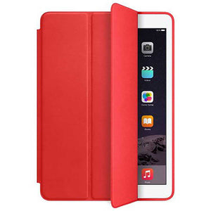 PTron Ultra Slim Smart PU Leather Flip Cover Case for Apple iPad Air iPad 5 Red