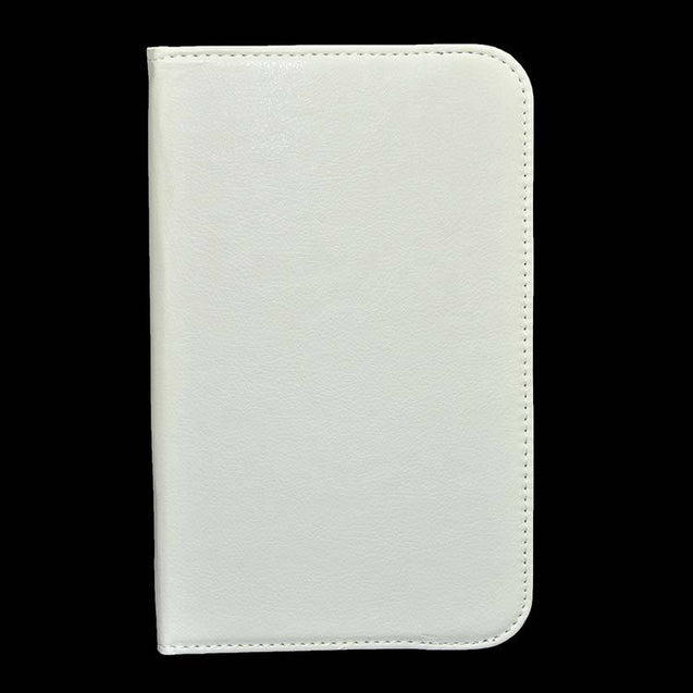 Samsung Galaxy TAB 3 T311 PTron Full 360 Rotating Cover White Stand Cover Case