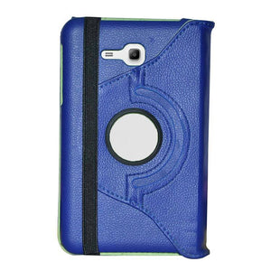 Samsung Galaxy Tab 3 Neo T111 Full 360 Rotating Cover Standy Case DarkBlue Green