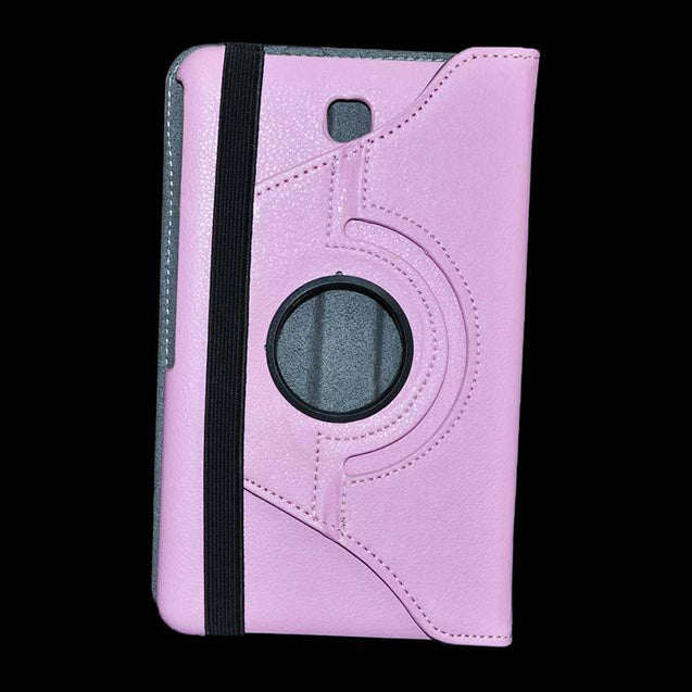 Samsung Galaxy Tab 4 Full Stand 360 Rotating Cover Tablet Case Pink