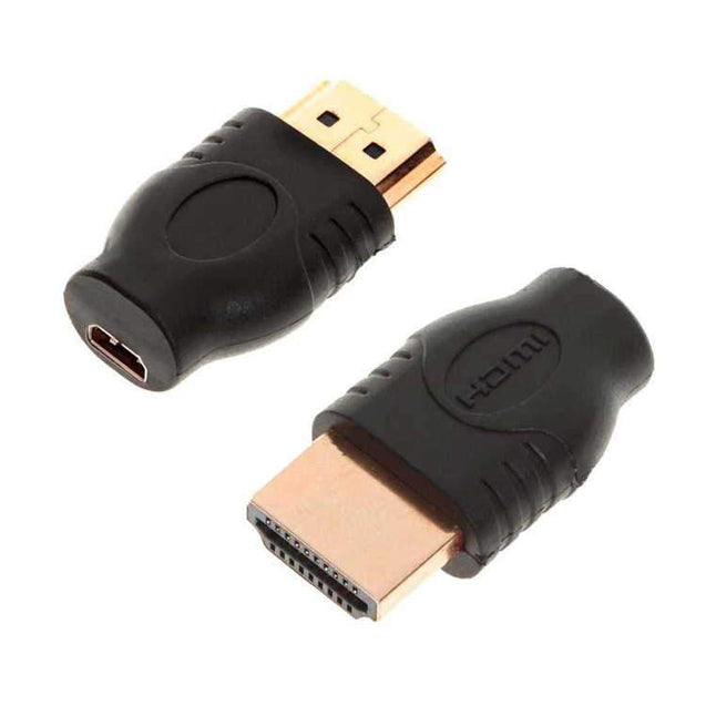 PTron Micro HDMI socket Female to mini HDMI Male Adapter For DV DC