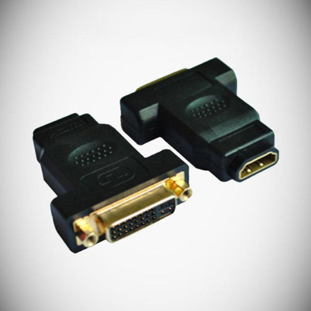 PTron DVI-I Female to HDMI Female Converter Adapter Coupler For all HDTV formats
