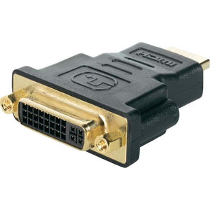 PTron HDMI Male to DVI 24 5 Female Adapter Black
